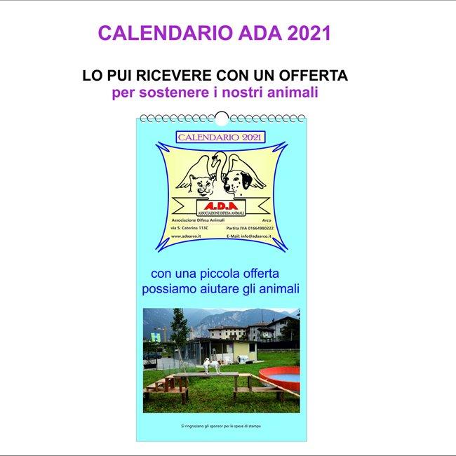 Calendario 2021 Comune Arco ADA Arco | calendario ADA 2021